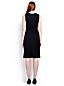 Women's Regular Welt Pocket Plain Shift Dress
