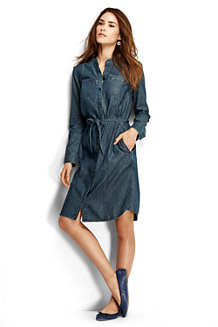 Women's Denim Shirtdress