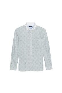 Men's Tailored Fit Contrast Collar Sail Rigger Shirt