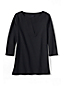 Women's Regular Three Quarter Sleeve Split Neck Tunic