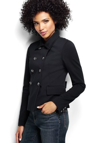 Women's Regular Ponte Jersey Captain Jacket