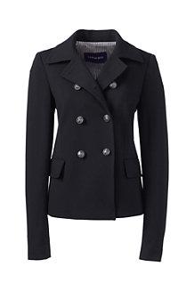 Women's Ponte Jersey Captain Jacket