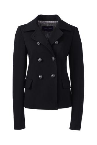 Women's Regular Ponte Jersey Captain Jacket