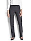 Women's Regular Wear to Work Mid Rise Patterned Trousers