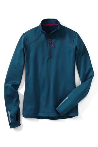 Polartec Powerstretch-Troyer für Damen