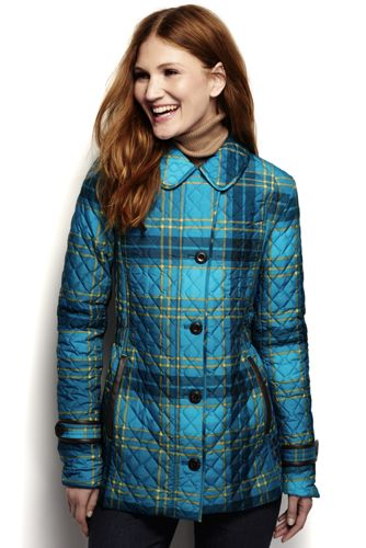Women's Regular PrimaLoft Quilted Patterned Parka