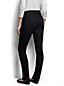 Women's Regular Mid Rise Black Slim Leg Jeans