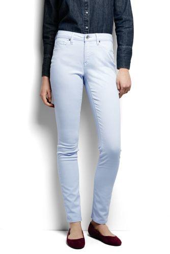 Slim Fit Jeans in Farbe