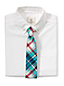 Karierte Krawatte für Jungen