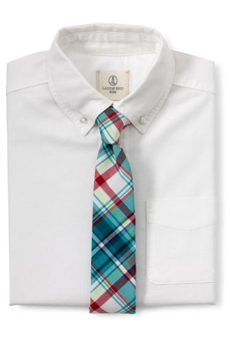 La Cravate à Carreaux Garçon