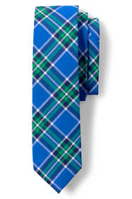 Boys Woven Plaid Tie