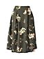 Women's Regular Printed Ponte Jersey A-line Skirt