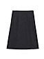 Women's Regular Textured Ponte Jersey Pleated Skirt