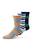 Nahtfreie Socken im 3er-Pack