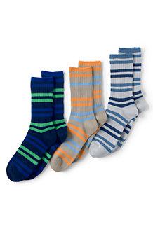 Men's Cotton-rich Socks - 3-pack