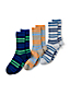 Men's Regular Cotton-rich Socks - 3-pack