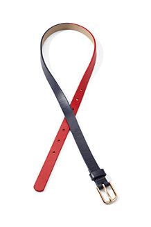 Two-tone Skinny Belt
