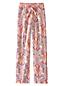 Women's Regular Jersey Patterned Drawstring Pyjama Bottoms