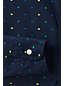 Little Boys' Dot Pattern Poplin Long Sleeve Shirt