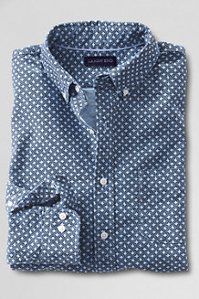 Men's Slim Fit Printed Sail Rigger Oxford Shirt