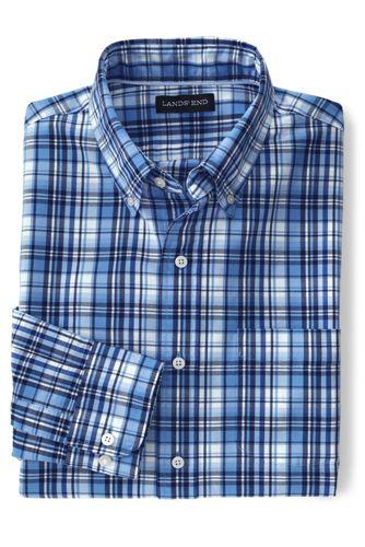 Men's Regular Traditional Fit Patterned Sail Rigger Oxford Shirt