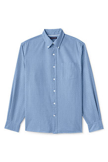 Men's Traditional Fit Printed Sail Rigger Oxford Shirt