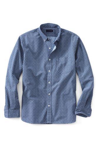 Gemustertes Heritage Oxfordhemd, Classic Fit
