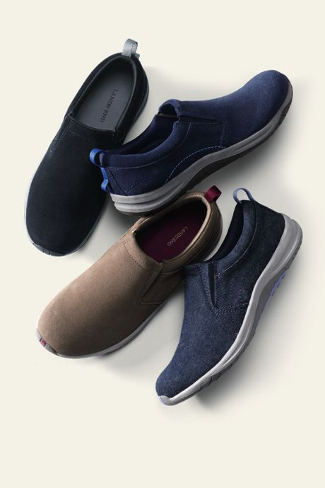 Women's Wide Comfort Slip-on Shoes
