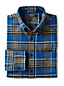 Men's Regular Traditional Fit Patterned Flannel Shirt