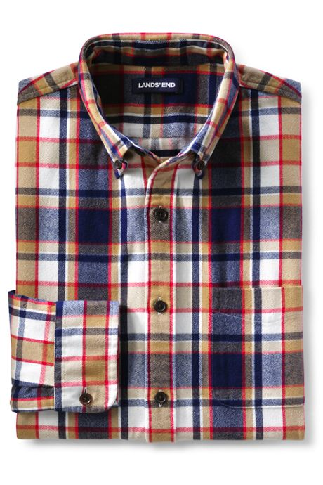 Unisex Slim Fit Pattern Flagship Flannel Shirt