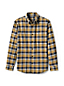 Men's Regular Tailored Fit Patterned Flannel Shirt