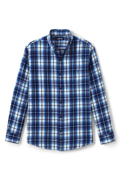 Slim Fit Pattern Flagship Flannel Shirt