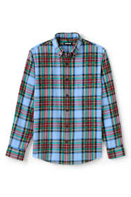 Men's Traditional Fit Pattern Flagship Flannel Shirt