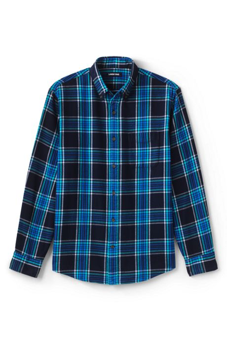 Big and Tall Traditional Fit Pattern Flagship Flannel Shirt