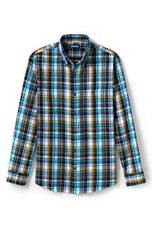 La Chemise en Flanelle à Motif Coupe Moderne, Homme