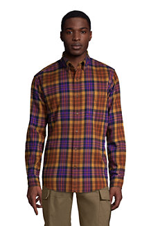 Gemustertes Flanellhemd, Classic Fit