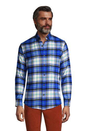 La Chemise en Flanelle à Motifs, Homme Stature Standard