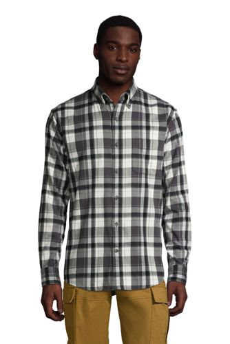 Men's Flagship Flannel Shirt, Traditional Fit