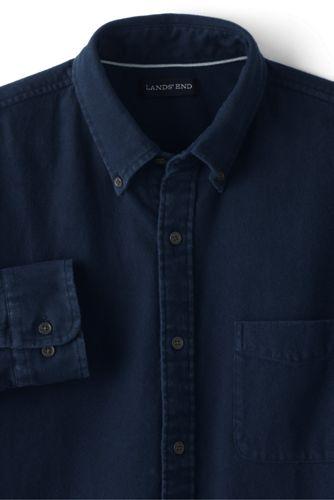 メンズ・フラッグシップ・フランネル・シャツ/スリムフィット/メランジ/長袖