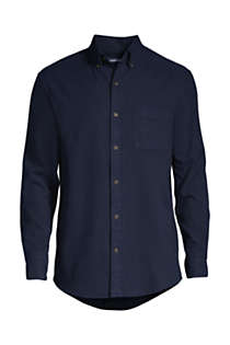 Tall Tailored Fit Flagship Flannel Shirt, Front