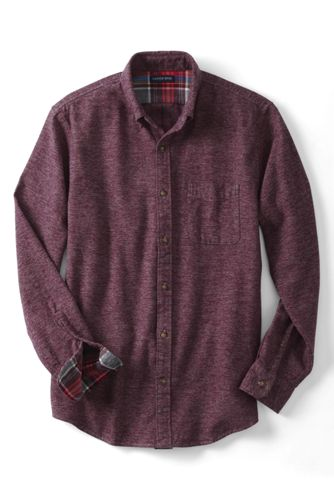 Men's Regular Tailored Fit Flannel Shirt