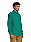 Chemise en Flanelle Coupe Classique Col à Pointes Boutonnées, Homme Stature Standard