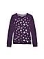 French Terry-Sweatshirt mit Foliendruck für kleine Mädchen