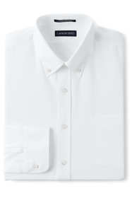 Men's Tall Long Sleeve Buttondown No Iron Tailored Broadcloth Shirt