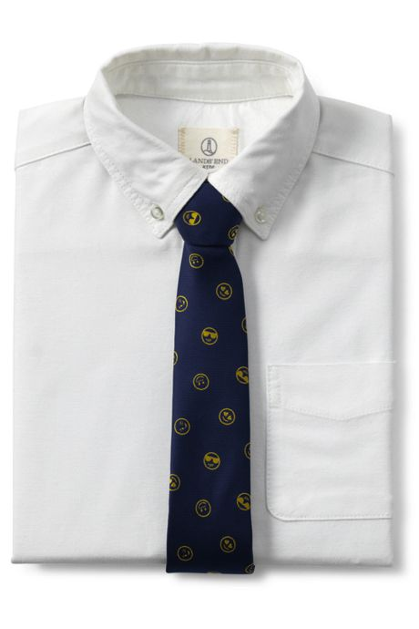 Boys Novelty Jacquard Necktie