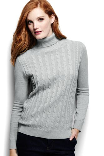 Le Pull Fine Maille Chic Col Roulé Femme, Taille Standard