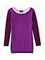Women's Regular Fine Gauge Supima® Colourblock Crew Neck