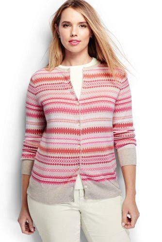 100% Cotton Plus Size Sweaters |