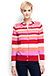 Women's Regular Stripe Supima®Fine Gauge Cardigan