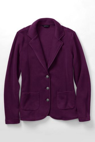 Women's Regular Cosy Fleece Blazer
